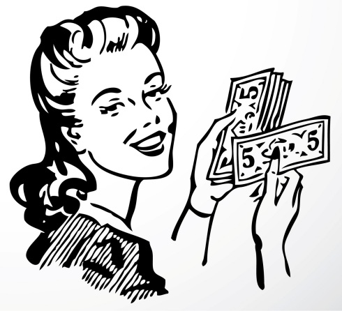 retro-lady-with-money