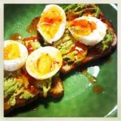 eggs avocado